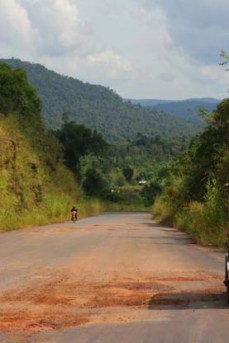 The long road, Cambodia. Lucy Munday