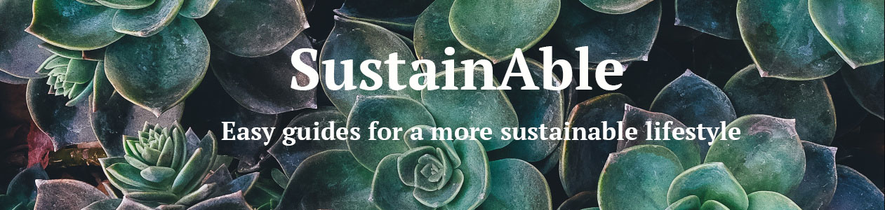 sustainable banner